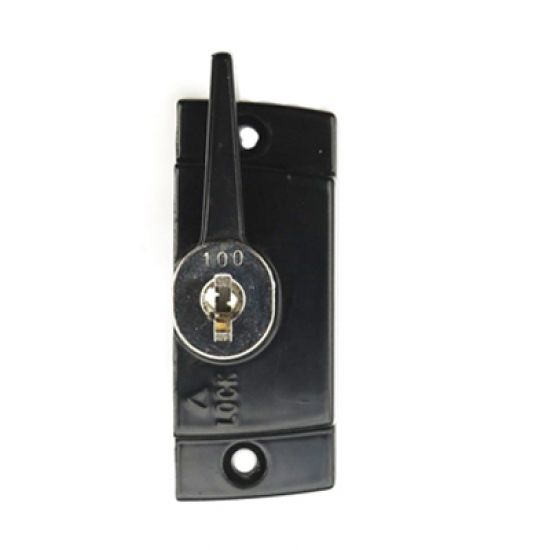 Truth locking camlock sliding window latch