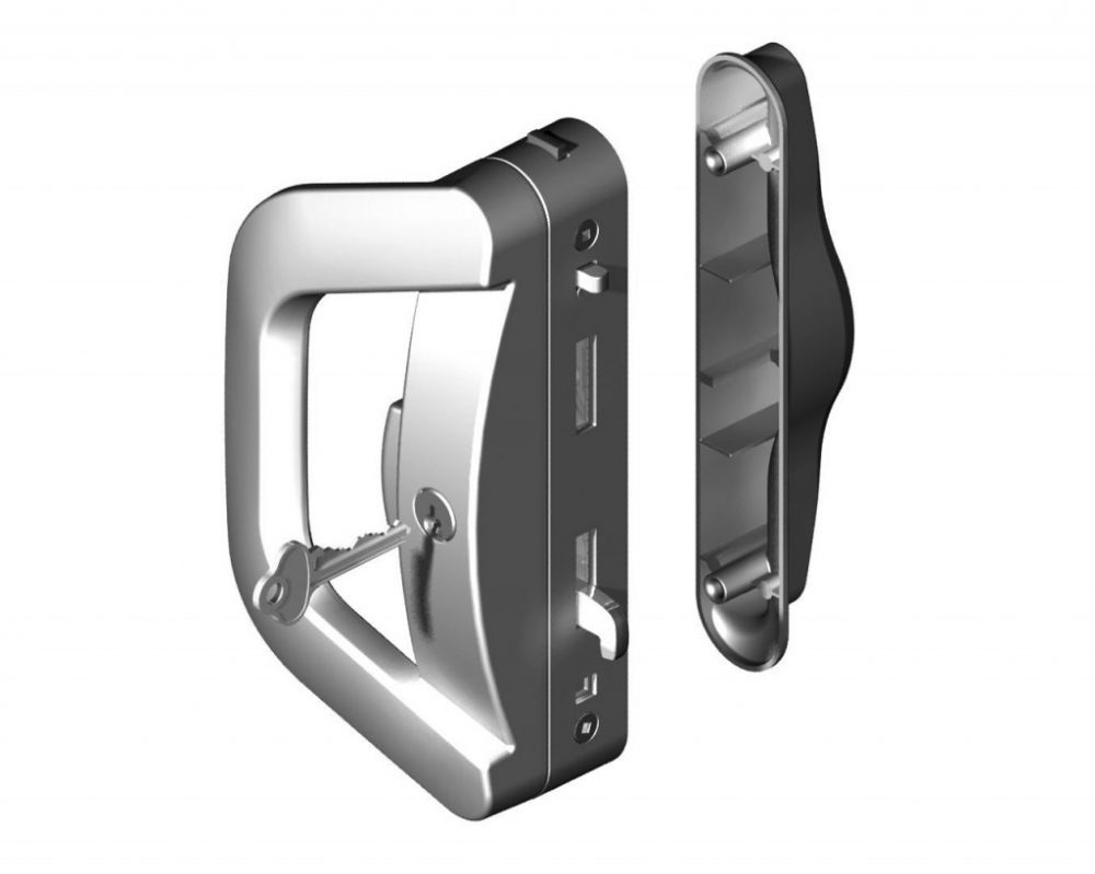 Surface Mounted Sliding Door Locks