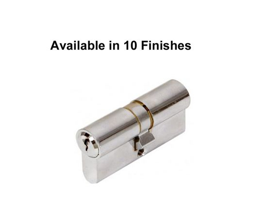 Windsor 70mm Double Key 5 Pin Euro Cylinders