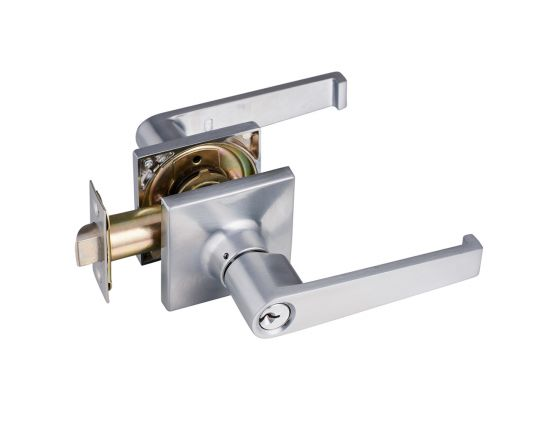Boston entrance lever set