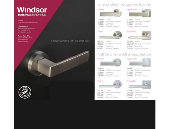 Windsor Brass architectural hardware