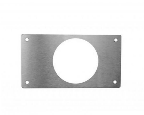 Mid rail lock adaptor plate