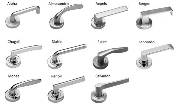 Legge 6000 Series Levers Amp Door Handles