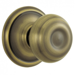 Schlage Georgian Knob Sets - AB