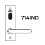 700 Series Int Lever On Plate (With indicating turn)