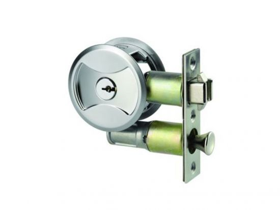 Lockwood cavity sliding door lock