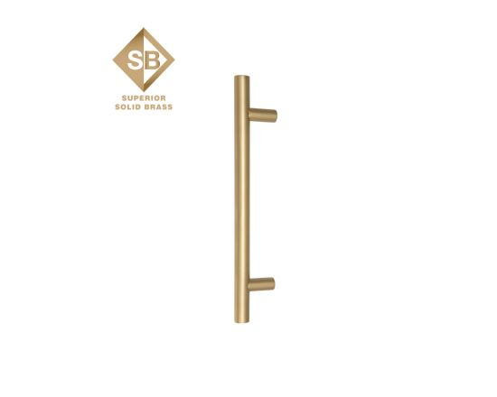 Windsor solid brass entrance handle