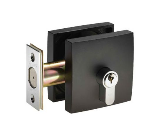 Gainsborough square single cylinder deadbolt
