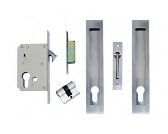 Windsor locking flush pull kit