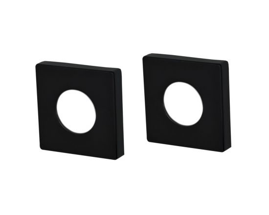S Range square passage rose adaptor