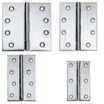 Tradco Fixed Pin Butt Hinges - CP
