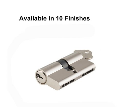 Tradco 60mm 5 pin Double keyed euro cylinders
